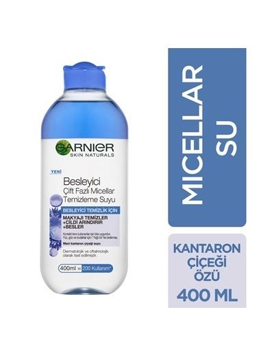 Garnier Garnier Besleyici Mavi Çift Fazlı Micellar Temizleme Suyu 400ML Renksiz